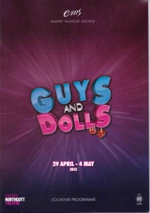 2013 - Guys and Dolls